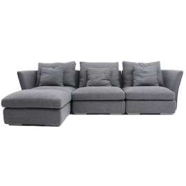 GI-GI THREE SEATER CORNER SOFA