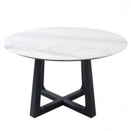 CHOI-CHOI DINING TABLE IN MARBLE (ROUND)