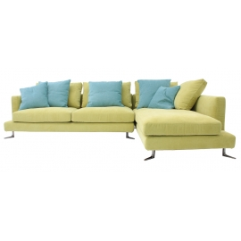 CAN-CAN THREE SEATER CORNER SOFA | CUSTOMISABLE