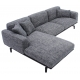 LI-LI THREE SEATER CORNER SOFA