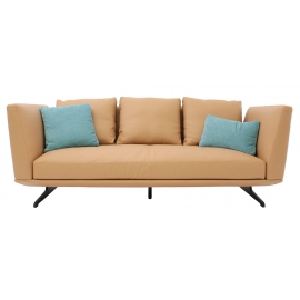 HIL-HIL THREE SEATER SOFA | LEATHER