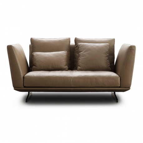 HIL-HIL TWO SEATER SOFA | LEATHER