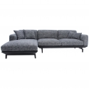 LI-LI THREE SEATER CORNER SOFA | LEATHER