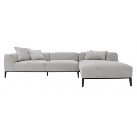 MIC-MIC THREE SEATER CORNER SOFA | LEATHER