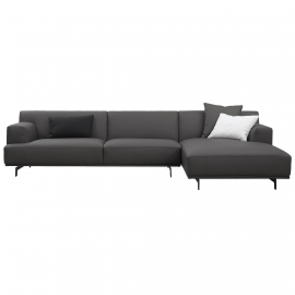 MI-MI THREE SEATER CORNER SOFA | LEATHER