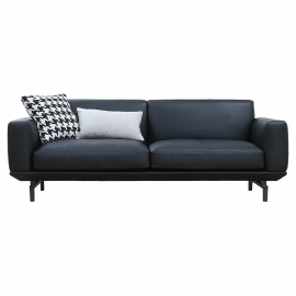 LI-LI THREE SEATER SOFA | LEATHER