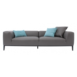 MIC-MIC THREE SEATER SOFA | LEATHER