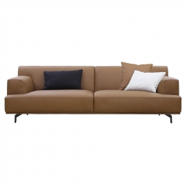 MI-MI THREE SEATER SOFA | LEATHER