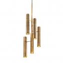 Bamboo Chandelier | 10 Lights