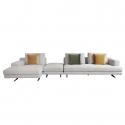 MS-MS Three Seater Corner Sofa with Ottoman
