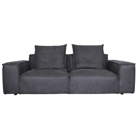 KI-KI THREE SEATER SOFA | LEATHER