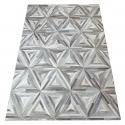 Grey Diamond Design Cowhide Rug (2 x 3m)