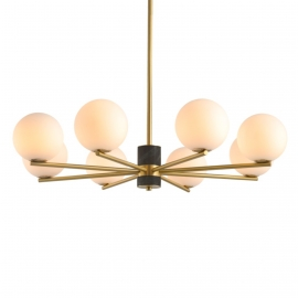 Orbit Chandelier | 8 Globes