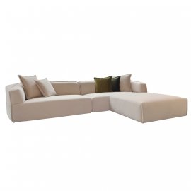 KAT-KAT FOUR SEATER SOFA WITH OTTOMAN