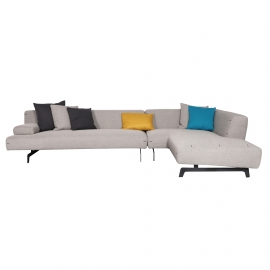 CRO-CRO Three Seater Corner Sofa