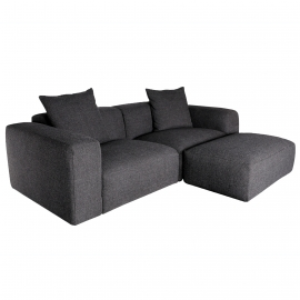 PE-PE Three Seater Sofa with Ottoman