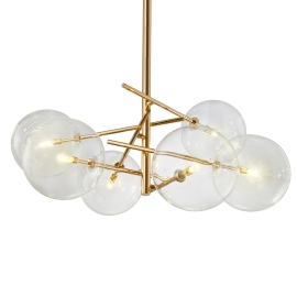 Globe Chandelier |6 Lights