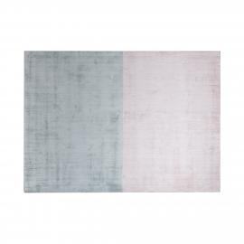Cadet Grey-Lavender Blush Distressed Rug (1.6 x 2.3m)