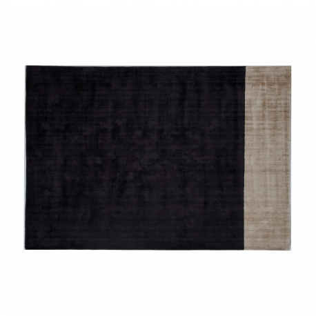 Charcoal Champagne Distressed Rug