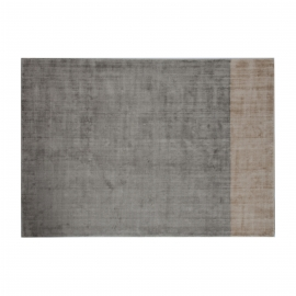 Silver Champagne Distressed Rug
