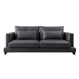Can-Can Three Seater Sofa | Leather