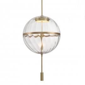 Crystal Xmas Ball Wall Lamp