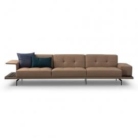 CA-CA Three Seater Sofa | Leather