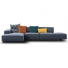 KAI-KAI Three Seater Open Arm Corner Sofa | Customisable