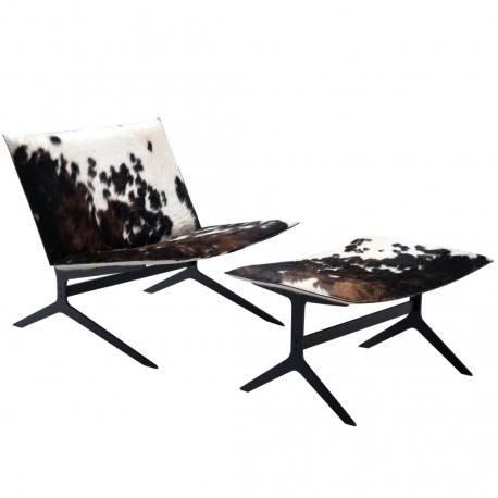 SENG-SENG Lounge Chair with Ottoman